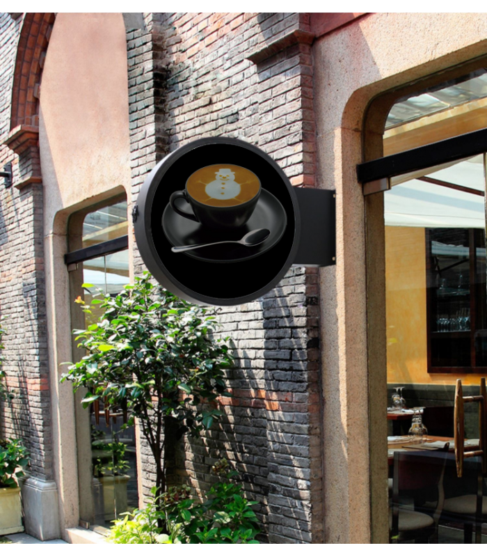 Protection pvc outdoor hologramme fan 70 MOM-F1-D 70