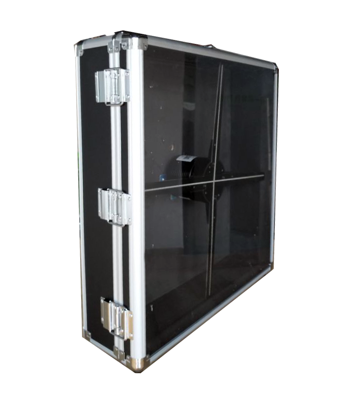 Valise Protection pvc mobile hologramme fan 50 MOM-F1-F 50